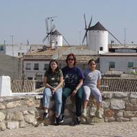 Alba, Juana y Sara. Clic para ver la imagen a mayor tamaño