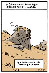 El Quijote visto por Max. Clic para ver viñeta